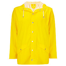 Buy Rains Short Waterproof Windbreaker Jacket, Cream Online at johnlewis.com