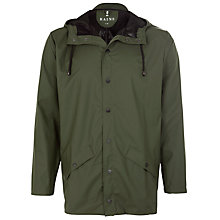Buy Rains Short Rain Jacket, Khaki Online at johnlewis.com