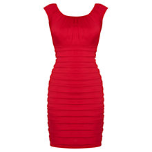 Buy Coast Petite Nikita Dress, Coral Online at johnlewis.com