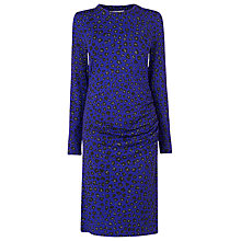 Buy L.K. Bennett Blossa Printed Dress, Ultra Blue Animal Daisy Online at johnlewis.com