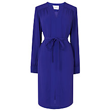 Buy L.K. Bennett Brindi Belted Shirt Dress, Ultra Blue Online at johnlewis.com