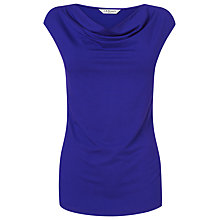 Buy L.K. Bennett Axel Cross Over Jersey Top, Ultra Blue Online at johnlewis.com