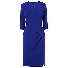 Buy L.K. Bennett Kiel Pleat Dress, Ultra Blue Online at johnlewis.com