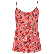 Buy Oasis Utility Rose Cami, Coral Online at johnlewis.com