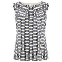 Buy Oasis Butterfly Dot Shell Top, Multi Online at johnlewis.com