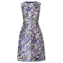 Buy L.K. Bennett Susan Ditsy Floral Print Dress, Blue Floral Print Online at johnlewis.com