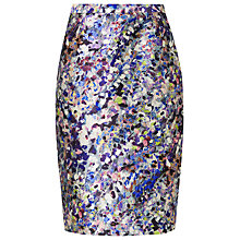 Buy L.K. Bennett Susan Pencil Skirt, Print Online at johnlewis.com