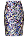L.K. Bennett Susan Pencil Skirt, Print