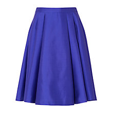 Buy L.K. Bennett Lutea Full Pleated Skirt, Blue Online at johnlewis.com