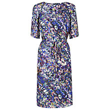 Buy L.K. Bennett Rosa Ditsy Floral Print Dress, Blue Floral Print Online at johnlewis.com