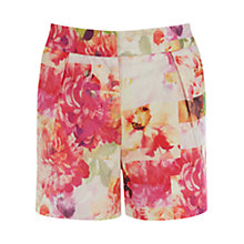 Buy Warehouse Botanical Print Shorts, Multi Online at johnlewis.com