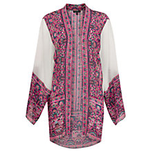 Buy Warehouse Ethnic Border Kimono, Multi Online at johnlewis.com