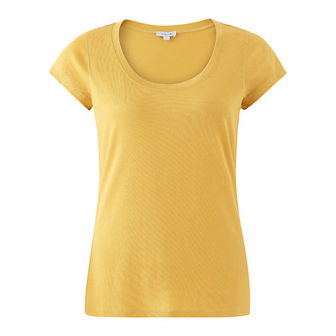 Buy Jigsaw Pima Cotton T-Shirt Online at johnlewis.com