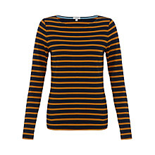 Buy Jigsaw Retro Jersey Striped T-Shirt Online at johnlewis.com