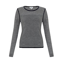 Buy Jigsaw Contrast Trim Sweater Online at johnlewis.com