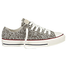 Buy Converse Chuck Taylor All Star Ox Wool Trainers, Charcoal Online at johnlewis.com