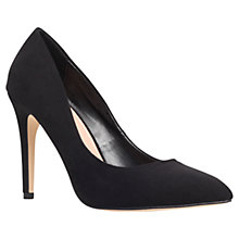 Buy Miss KG Carrie Pointed Court Shoes, Black Online at johnlewis.com
