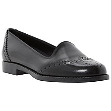 Buy Bertie Lindon Brogue Detail Leather Loafers Online at johnlewis.com
