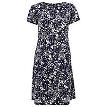 Buy Collection WEEKEND by John Lewis Japanese Floral Print Dress, Blue Online at johnlewis.com