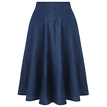 Buy Collection WEEKEND by John Lewis Full Skirt, Indigo Online at johnlewis.com