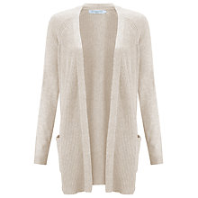 Buy John Lewis Raglan Ribbed Cardigan Online at johnlewis.com