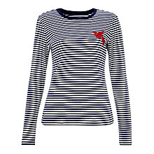 Buy Collection WEEKEND by John Lewis Breton Motif Top Online at johnlewis.com