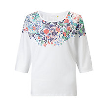Buy Collection WEEKEND by John Lewis RCA Printed Batwing Top, Print Online at johnlewis.com