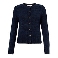 Buy Collection WEEKEND by John Lewis Cotton Cardigan, Indigo Blue Online at johnlewis.com