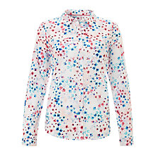 Buy Collection WEEKEND by John Lewis Ditsy Print Shirt, Multi Online at johnlewis.com