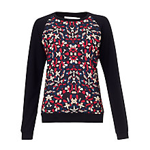 Buy Collection WEEKEND by John Lewis Kaleidoscope Print Front Sweatshirt, Multi Online at johnlewis.com