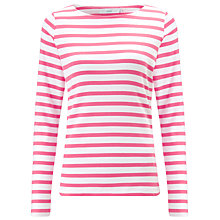 Buy John Lewis Long Sleeve Breton Stripe Top Online at johnlewis.com