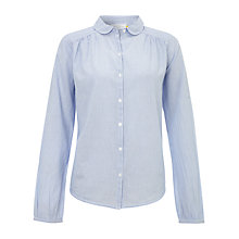 Buy Collection WEEKEND by John Lewis Needle Stripe Shirt, Pale Blue Online at johnlewis.com