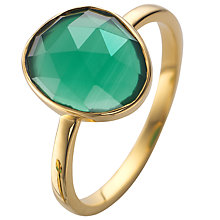 Buy John Lewis Gemstones Gold Plated Semi-Precious Stone Ring Online at johnlewis.com