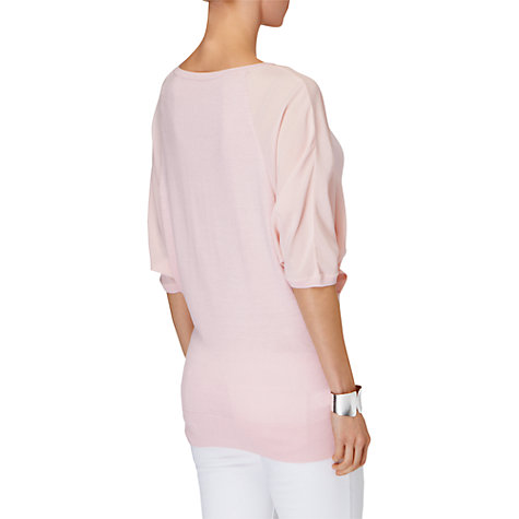 Buy Phase Eight Bertie Batwing Jumper, Soft Pink Online at johnlewis.com