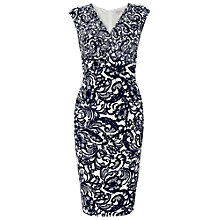 Buy Phase Eight Ledbury Shift Dress, Navy/Cream Online at johnlewis.com