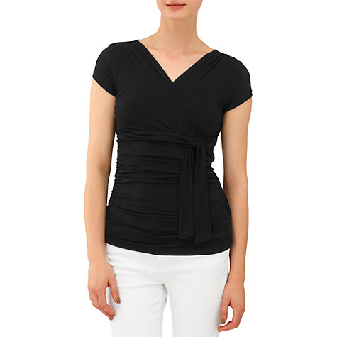 Buy Phase Eight Sandie Wrap Top Online at johnlewis.com