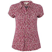 Buy White Stuff Pallet Shirt, Magenta Go Online at johnlewis.com
