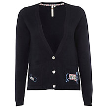 Buy White Stuff Rover Cardigan, Navy Online at johnlewis.com