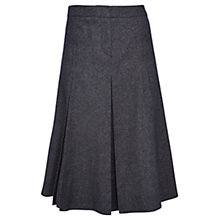 Buy Viyella Pleated Wool Skirt, Indigo Online at johnlewis.com