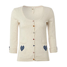 Buy White Stuff Art Cardigan, Emulsion Online at johnlewis.com