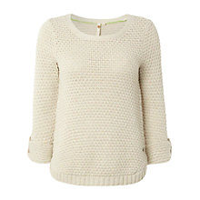 Buy White Stuff Kiri Jumper, Emulsion Online at johnlewis.com