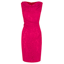 Buy Coast Lianna Lace Dress, Pink Online at johnlewis.com