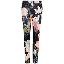Buy Ted Baker Opulent Bloom Trousers, Black Online at johnlewis.com