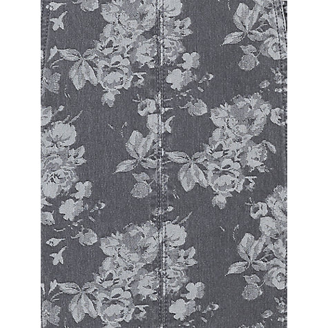 Buy Phase Eight Lola Floral Denim Dress, Grey Online at johnlewis.com