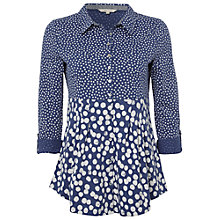 Buy White Stuff Artist Shirt, Blue Suede Online at johnlewis.com