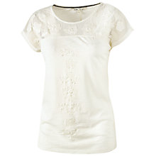 Buy Fat Face Aelwen Applique Lace T-Shirt Online at johnlewis.com