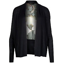 Buy Ted Baker Opulent Bloom Print Wrap, Black Online at johnlewis.com