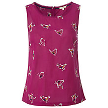 Buy White Stuff Artistic Vest, Crayon Pink Online at johnlewis.com