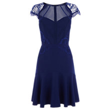 Buy Coast Devine Lace Dress, Navy Online at johnlewis.com