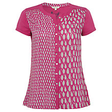 Buy White Stuff Splatter Shirt, Magenta Online at johnlewis.com